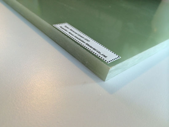 Epoxy Glass Cloth Laminated Sheet Epgc201 (IEC Grade) pictures & photos