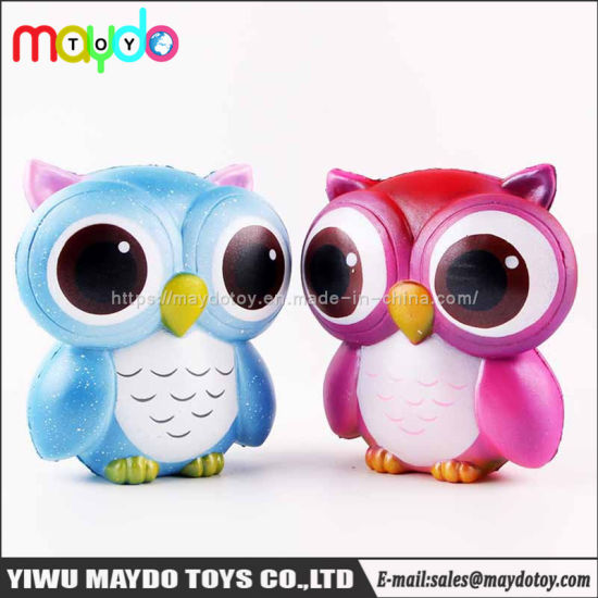 Hot Selling Squishy Owl PU Slow Rising Squishies Toy pictures & photos