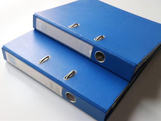 Wholesale PVC Lever Arch Box File Folder for Stationery Office (VFF7)