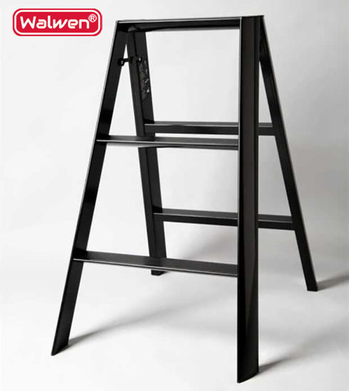 China a Frame Ladder Sizes Husky Step Ladder 3 Step Aluminum Folding ...