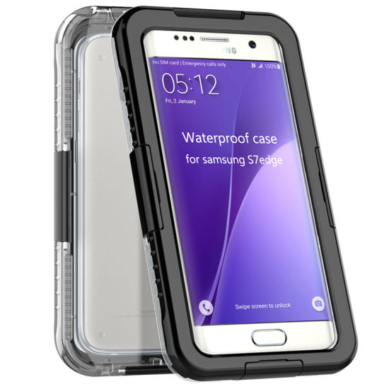 Waterproof Liquid Silicone Cover for Samsung Galaxy S7/S7 Edge