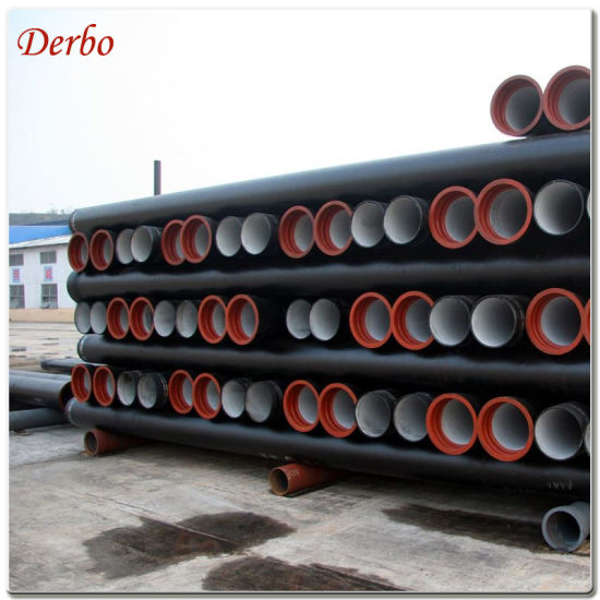 Dn700 Pn25 Class K9 T Type ISO 2531 Ductile Iron Pipe