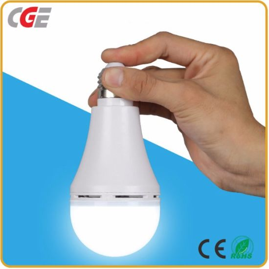 LED Bulb Design 7W/9W/12W/15W LED Emergency Light Bulb LED Emergency Rechargeable Magical Bulbs LED Emergency Lamps pictures & photos