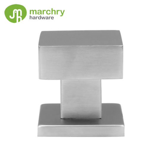 Interior Door Stainless Steel Square Glass Door Knob
