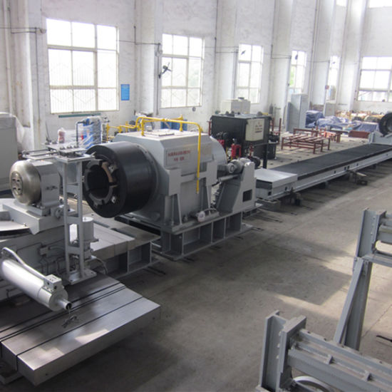 Diameter 559-920mm Hot Spinning Machine with Induction Furnace