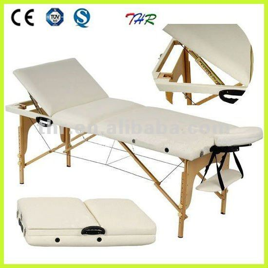 Thr-Wt006 Wooden Portable Massage Table pictures & photos