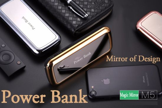 New Style Magic Mirror Series Portable Power Bank with 10000-15000mAh pictures & photos