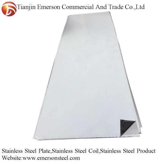 ASTM A240 201 202 304 303 316 310S 409 430 2b Ba No. 4 Finish Stainless Steel Plate