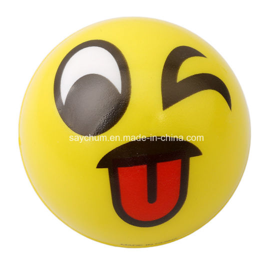 [Hot Item] Funny Emoji Faces Ball Anti Stress Stress Relief Toy Balls