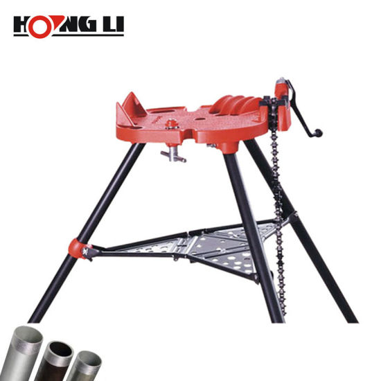 Tri-Stand Portable Chain Vise for 1/8  to 6  Pipes (H401)  sc 1 st  Hangzhou Hongli Pipe Machinery Co. Ltd. & China Tri-Stand Portable Chain Vise for 1/8
