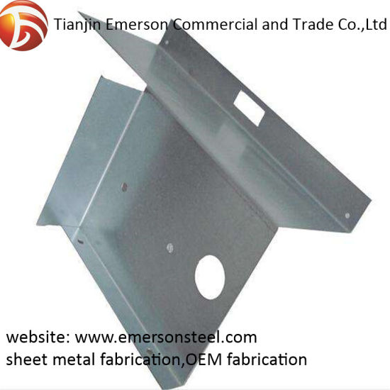 Factory Experienced Sheet Metal Fabrication Customized Steel Machine Part
