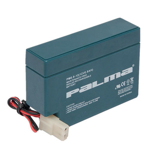 Lower Self-Discharge Rate 12V 0.8ah VRLA Battery for Middle East pictures & photos