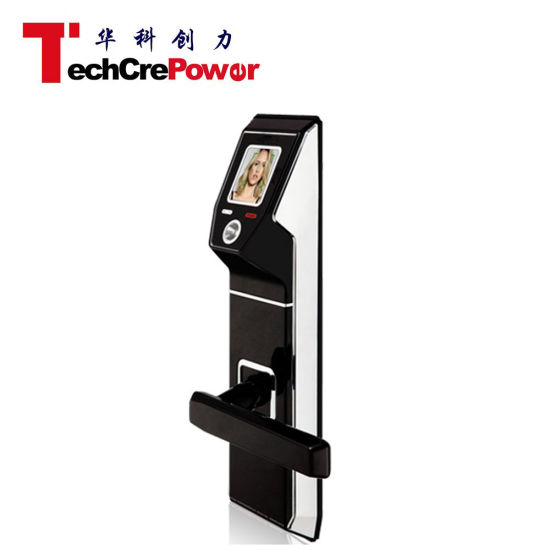 Shenzhen Wholesaler Face/Card/Password Face Recognition Facial Door Lock for Home/Office pictures & photos