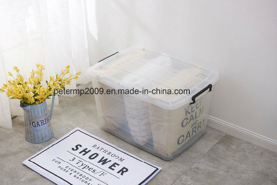 Factory Wholesale Square Shape Food Receiving Plastic Storage Box pictures & photos