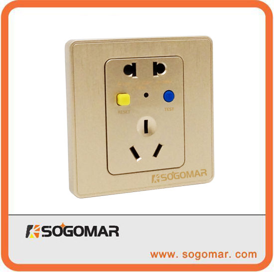 China Dk-10A Silver Wall Mount Switch Outlet for Circuit Beaker ...