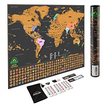 China travel tracker world map poster original landmass scratch off travel tracker world map poster original landmass scratch off map gumiabroncs Image collections