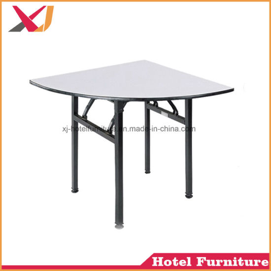 Used Round Banquet Tables For Sale With PVC Material