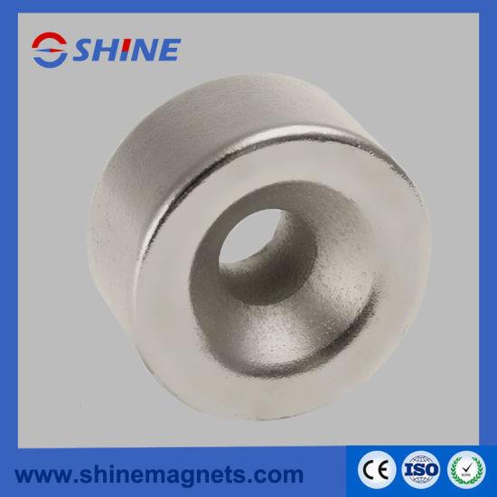 China Stable Magnetic Properties Neodymium Magnet Ring