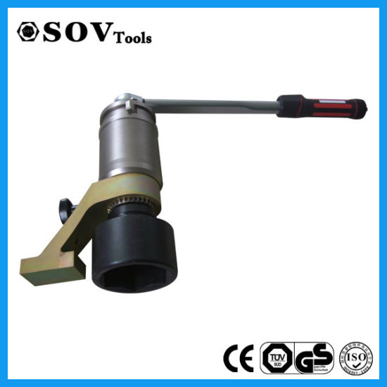 Heavy Bolt Tools Mechanical Torque Multiplier With Adjustable Socket