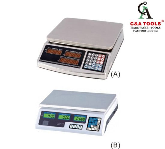 Electronic Price Scale Weighing Scale with LED Display