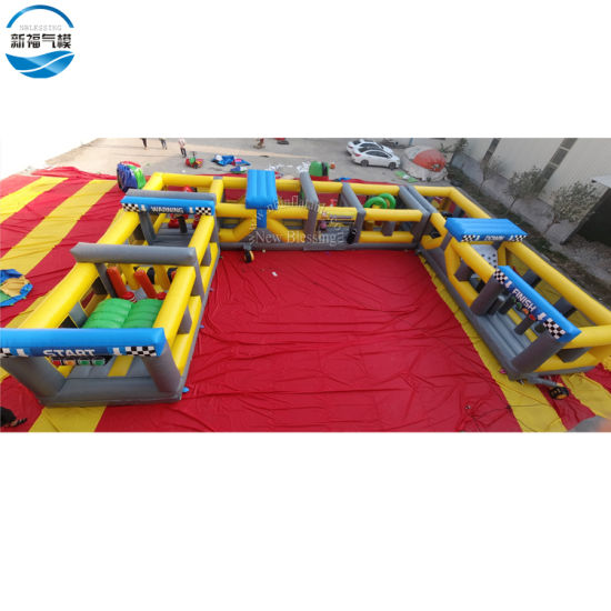 Outdoor Chellenge Inflatable Race Track Inflatable Land Obstacle Course pictures & photos