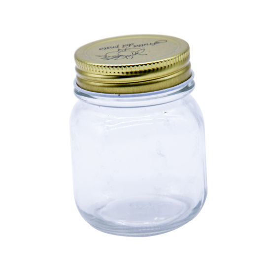 Best Price 175ml Hexagon Glass Jars for Kitchen Storage pictures & photos