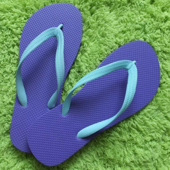 2b925d4bc2e 4how Unisex Flip Flops Sandals Beach Black for Men Women on Sale pictures    photos