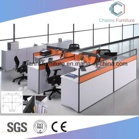 modern office cubicle. Modern Office Furniture 4 Person Cubicle (CAS-W1866)