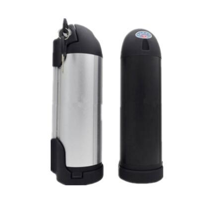 36V 13ah 10s5p Bullet Trains Style Lithium-Ion Battery E-Bike Battery Water Bottle Battery Down Mounted Shark Battery for E-Vehicles with LG M26 Cells