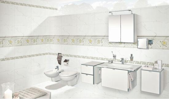 China 30x60 white carrara marble look bathroom wall ceramic tile 30x60 white carrara marble look bathroom wall ceramic tile ppazfo