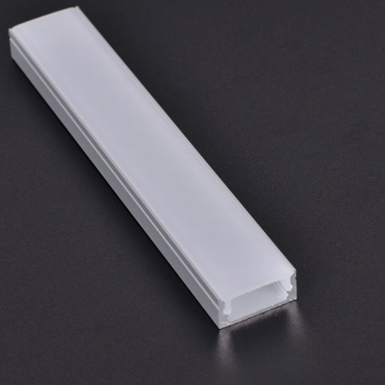 17*8mm U type LED STRIP Aluminum profile for cabinet