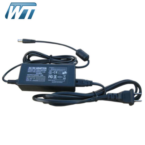 24V 1A AC/DC Switching Power Supply Desktop Adaptor OEM