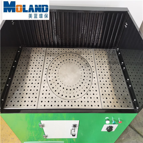 Cutting Platform Smoke Control Equipment Moland Dust Collector, Dust Capture Rate Is High and Easy to Clean
