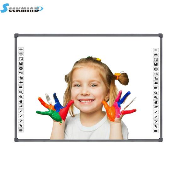 Dvit Ten Touch Finger Touch Optical Smart Interactive Digital Whiteboard for School