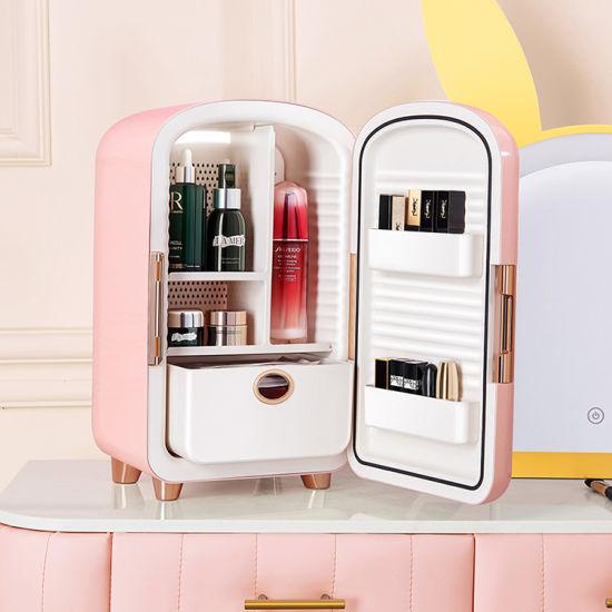New 12L Custom Portable Cosmetics Fridge Pink Mini Fridge for Cosmetic