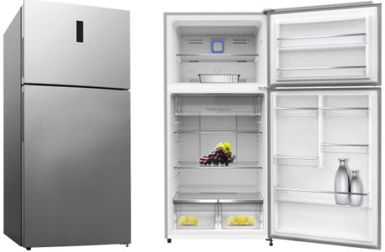 500L Frost-Free Top Freezer Double Door Home Fridge with LED Digital Display with Gems Meps Approved Kd-500fw