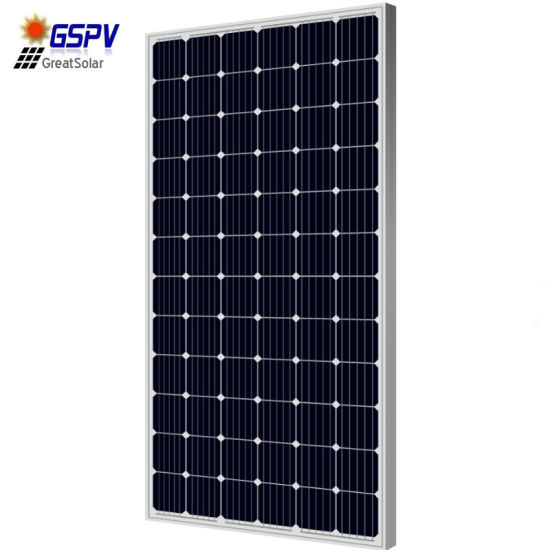 330W Monocrystalline Solar Panel for Solar Power System