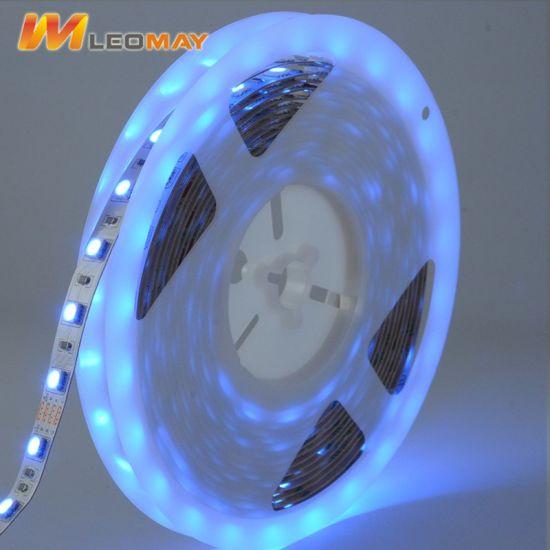 SMD5050 12V 60LEDs/M Flexible RGB LED Strip for Party Decoration