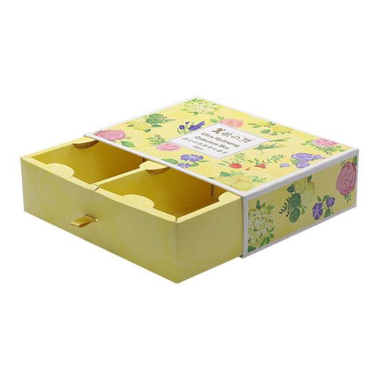 Custom Craft Rigid Drawer Gift Box & Bag, Fast Food Packing Box, Take Away Paper Box, Tea / Coffee Printed Packaging Box