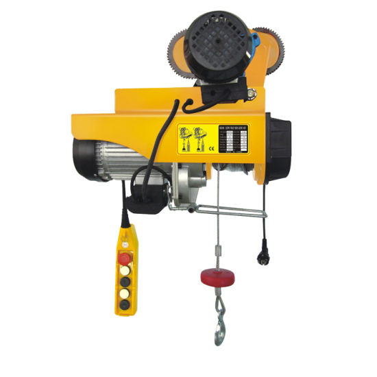 China Electric Wire Rope Hoist Price List