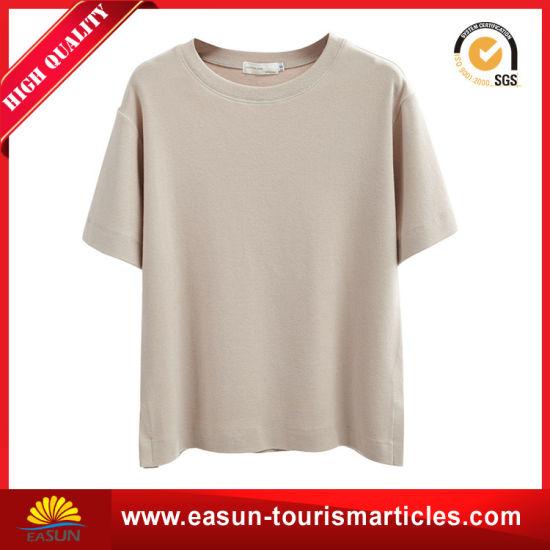 Custom T-Shirt 100%Cotton Man Grey T-Shirt Wholesale China