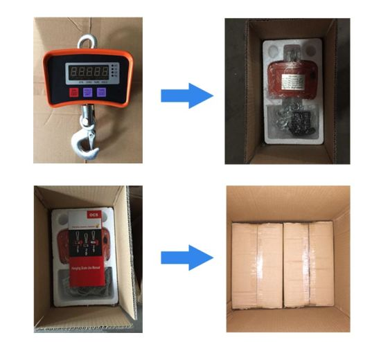 Small Digital Crane Hanging Scale 200kg/100g pictures & photos