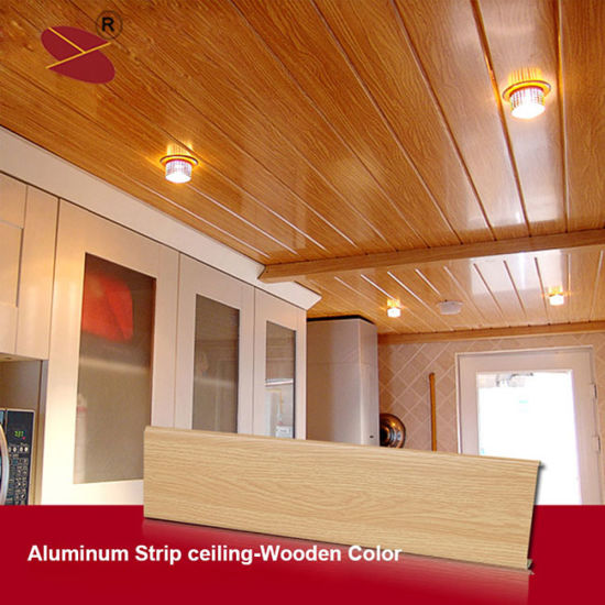 Building Material Aluminum Strip Ceiling Tile With Factory Price