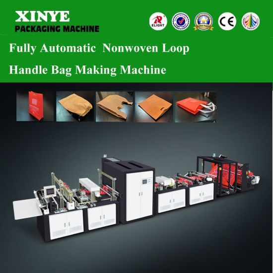 Multifunction Automatic Nonwoven Fabrics Bag Making Machine with Five Functions