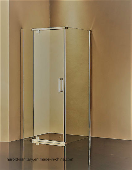 China 8-10mm Low-E Tempered Bathroom Glass Shower Door - China ...