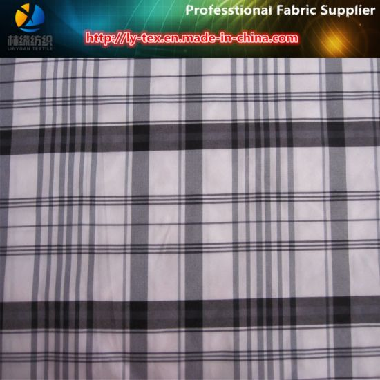 Italy Popular Fabric, 190t Nylon Yarn Dyed Fabric with Anti-UV for Shirt pictures & photos