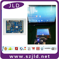 Jld056 Rk3288 Android Development Board Support Lvds Mipi Edp LCD  Connection 2g+8g