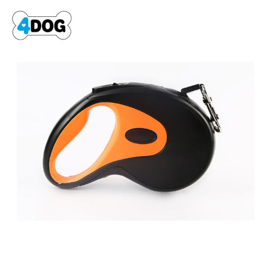 Heavy Duty Retractable Dog Leash, 10 FT Dog Walking Leash for Small Medium Large Dogs up to 110lbs, Tangle Free.