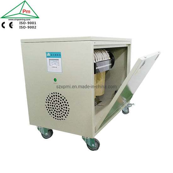 Xinpoming Three Phase Step up Transformer 220V to 440V Power Guard 100kVA Dry Type Isolating Transformer Manufacture