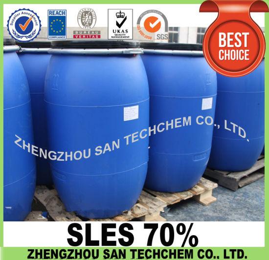 Chinese Wholesale Factory Texapon Sodium Lauryl Ether Sulfate 70% SLES 70%